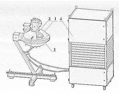 Апарат вихрового шару АВС 150