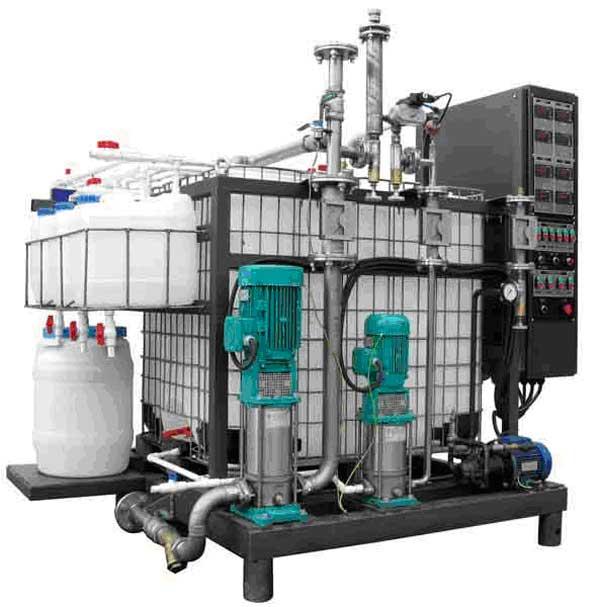 Установка для виробництва бітумних емульсій УВБ 1 (8 м3/год)